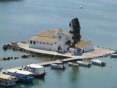 Isla, Corfú, Grecia.