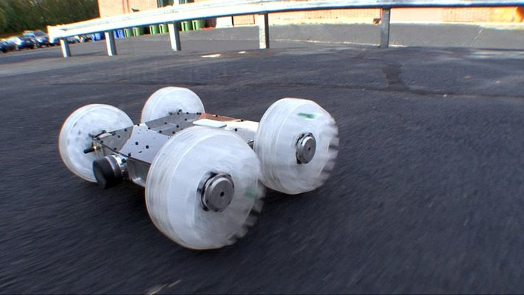 Sand Flea is an 11-lb robot with one trick up its sleeve: Normally it drives like an RC car, but when it needs to it can jump 30 feet into the air. An onboar...