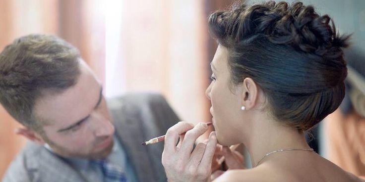 Makeup wedding day