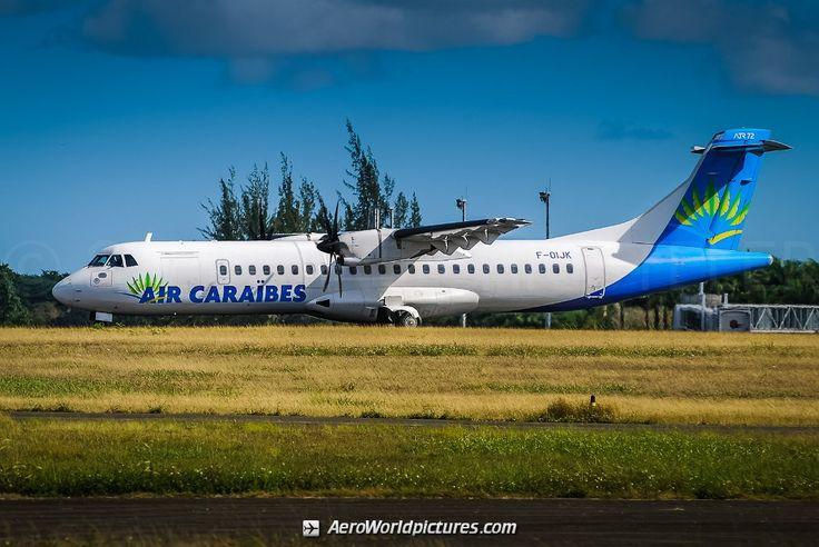 F-OIJK Air Caraibes ATR 72-500 (72-212A) - cn 736