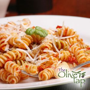 Linda Smith's Pasta Sun Dried Tomatoes...A simple, quick pasta dish for busy cooks that is full of flavor!