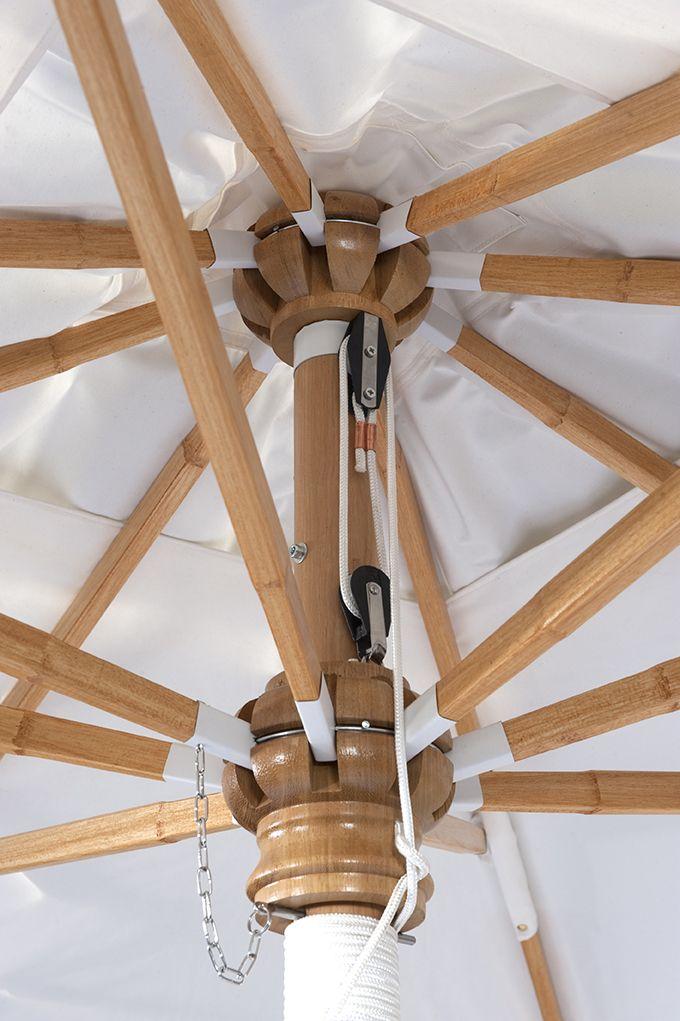 roma tectona mobilier jardin parasol