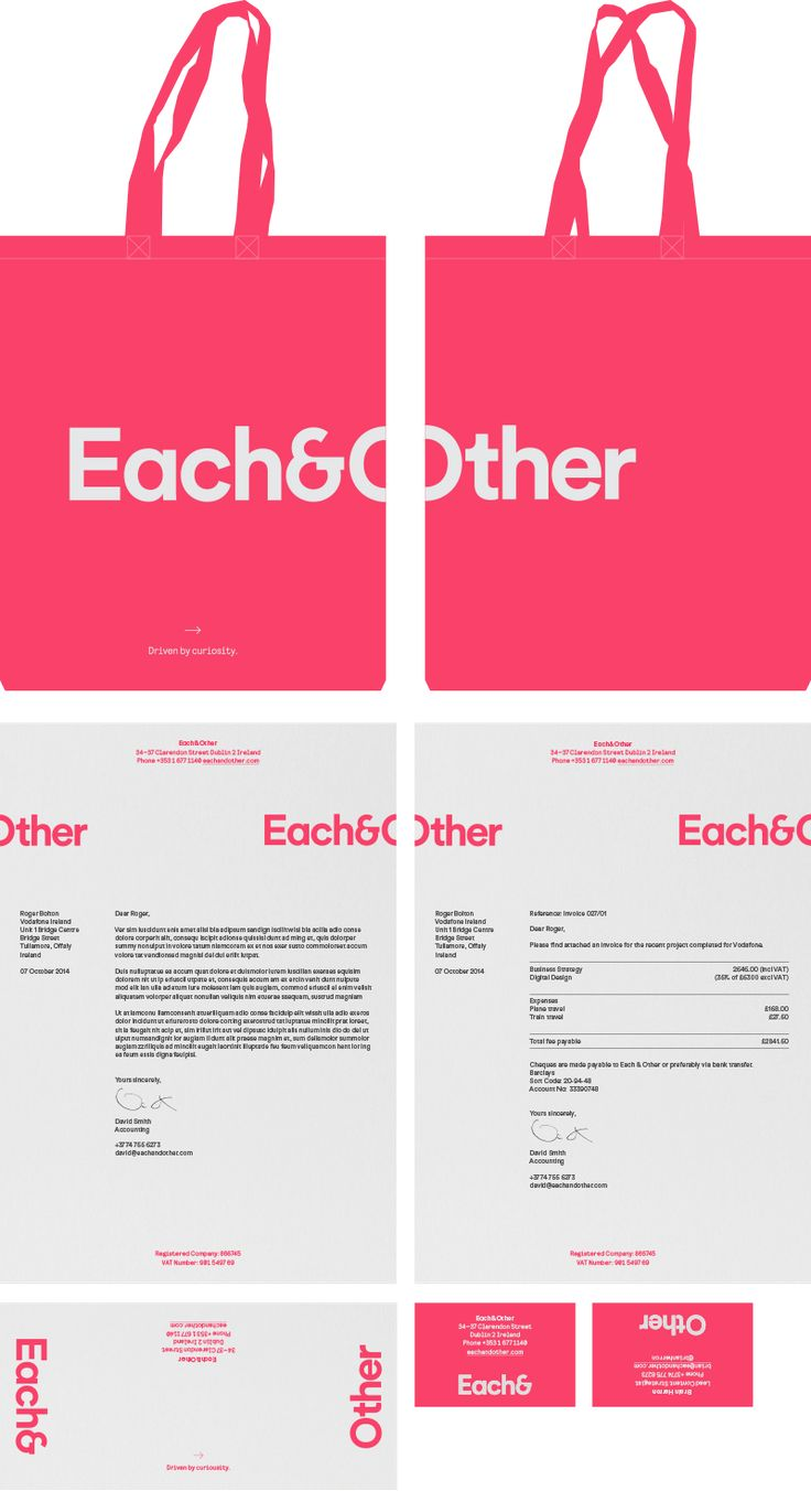 Each&Other - Proud Creative