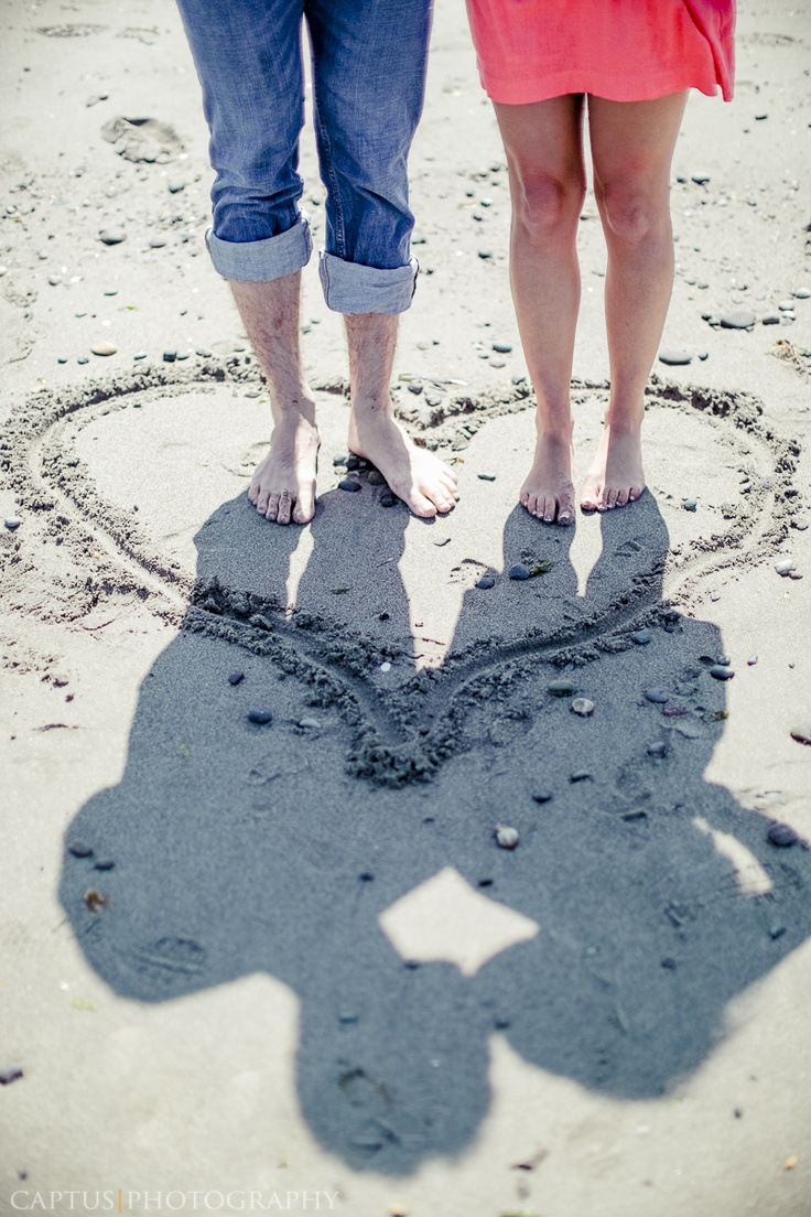 engagement idea shadow on the beach if there is light :)