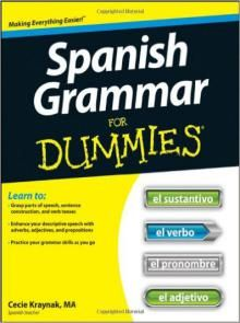 Spanish Grammar For Dummies Pdf Download e-Book