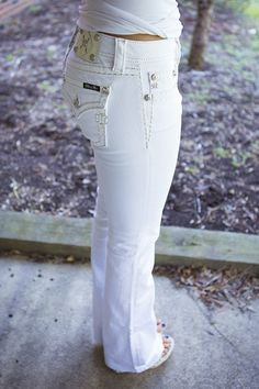 1000  ideas about White Bootcut Jeans on Pinterest  Black bootcut