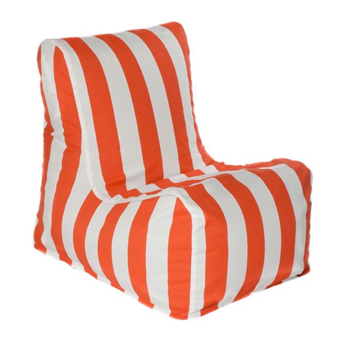 Stripe bean bag chair