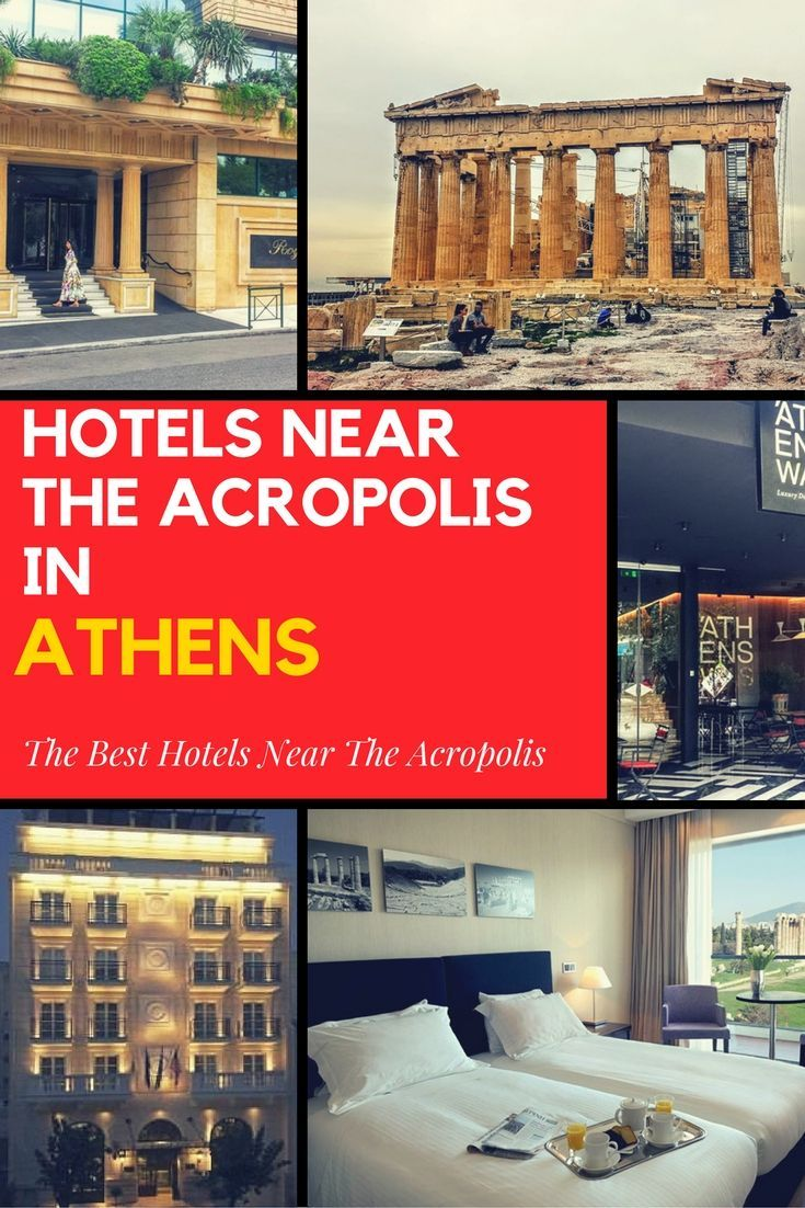 If you want to stay near the Acropolis in Athens, any one of these great hotels in Athens will be ideal. #Athens #Acropolis