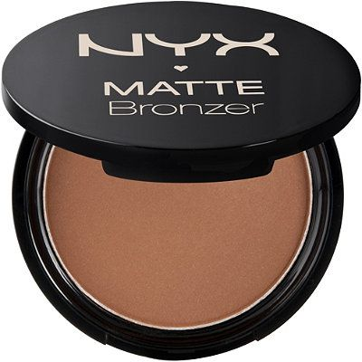 You can't beat the price ($6) of NYX's Matte Bronzer. I sometimes use it to contour, or use it as blush when I wear red lipstick. #makeup #blush #bronzer