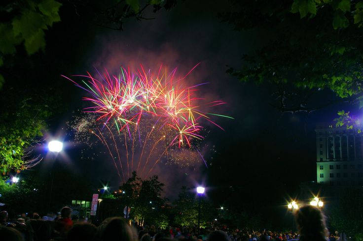downtown asheville nc 4th july fireworks