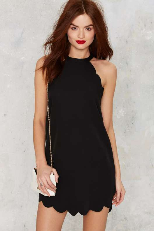 Above The Curve Halter Dress - Going Out✧•*•. ஐ ✦⊱Pinterest @Kawaii Duck ⊰✦ ღ Follow to discover more ஐ✧•*•