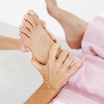 Reflexology points for hyperhydrosis- Hyperhydorisis is the result of an overactive fight or flight response in the sympathetic nervous system.  Work the spine reflex (medial side of each foot) as well as the  thyroid & liver reflex as liver function may contribute to the condition. It is also wise to work the the solar plexus, neck, and shoulder reflexes to relieve stress, as stress is often a trigger.