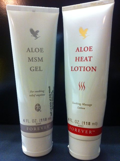 You probably will have some aces and pains after a days of work or after exercising , our heat lotion is multifunctional and could be applied were ever you need heat, our MSM gel aids at those places you would need an ice pack.