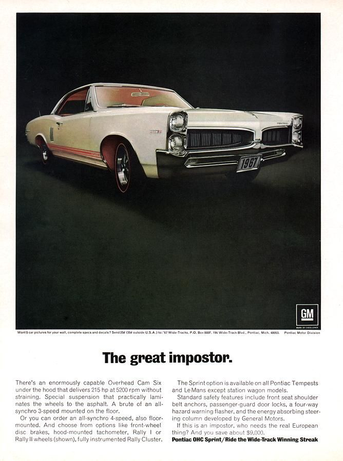 120 best PONTIAC OHC 6 ADs images on Pinterest | Trucks, 67 gto and Ads