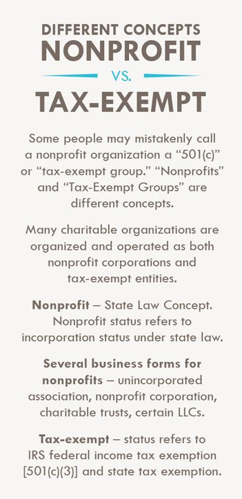 What is a Nonprofit? What is tax-exempt 501(c)(3)?