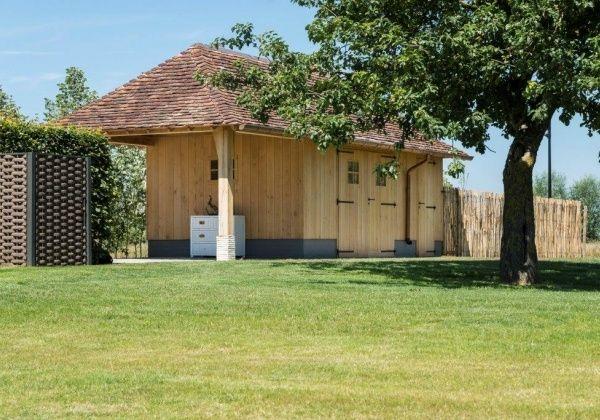 U wenst een landelijk bijgebouw te plaatsen ? Contacteer Wood Arts uit West-Vlaanderen (Avelgem).