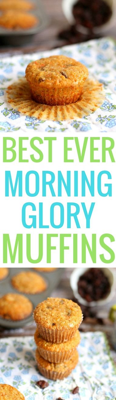 Best Ever Morning Glory Muffins http://www.pbfingers.com/best-ever-morning-glory-muffins/ These muffins are incredibly soft and moist but full of texture thanks to the carrots and chopped walnuts. The flavor reminds me of the most delicious carrot cake… The kind that is so perfect that adding icing would only detract from the flavor (and that's saying something since I'm usually Team Icing all the way in the icing vs. cake debate). Recipe comes from Sunflour Baking Company -- a local…
