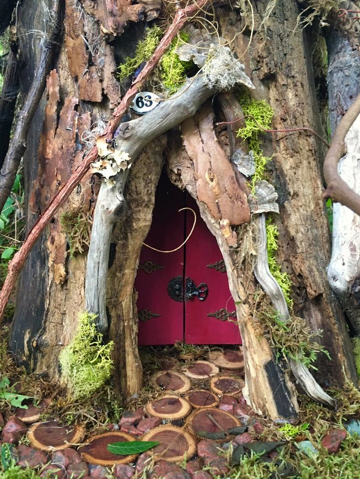 Gnome In Garden: 101 Best Images About Tree Stump Gnome Homes On Pinterest