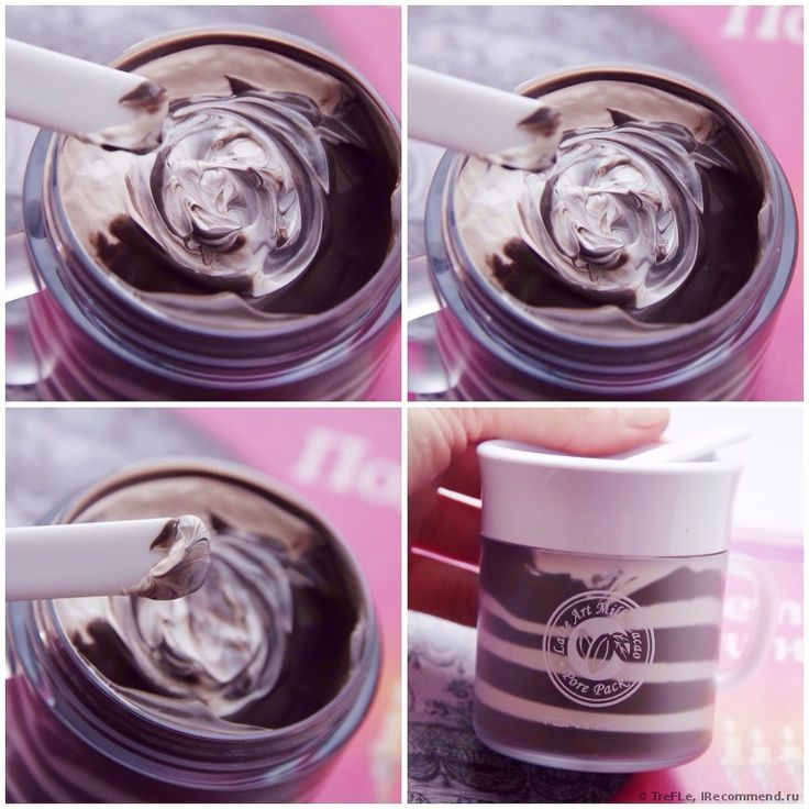Маска для лица TONY MOLY Latte art milk cacao pore pack - отзыв