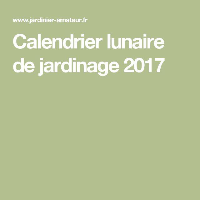 1000 ideas about calendrier lunaire on pinterest for Calendrier lunaire pour le jardin