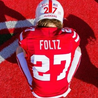 Nebraska football honors Sam Foltz, lines up with 10 men on first punt