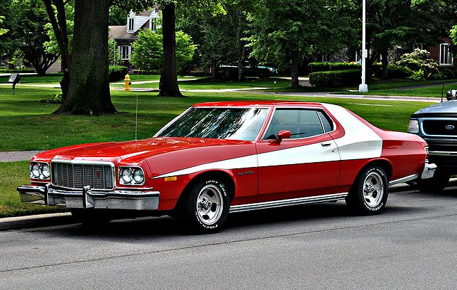 "1976 Ford Gran Torino from ""Starsky & Hutch"" - JPG Photos"