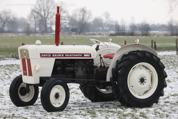 880 Ford Tractors : David brown sir