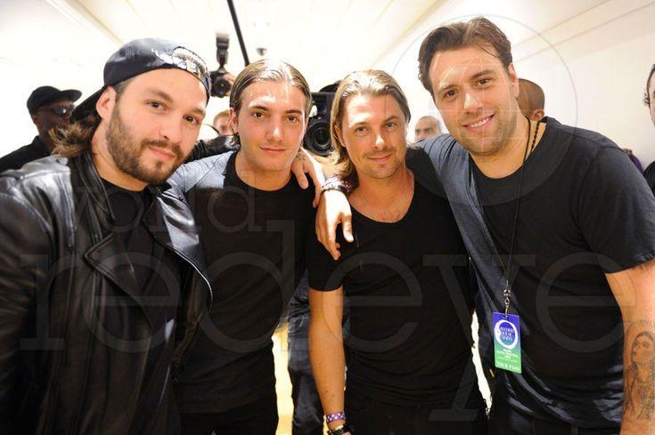 Steve Angello, Alesso, Axwell, & Sebastian Ingrosso