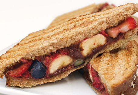 ALDI US - Fruit and Hazelnut Panini