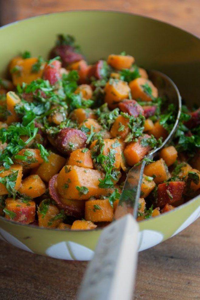 Ensalada especiada de zanahorias