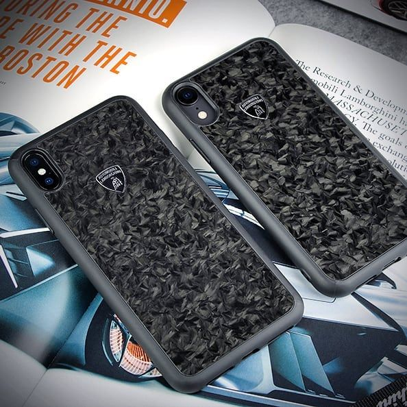 separation shoes a552e 070d2 Lamborghini Genuine Forged Carbon Fiber Case for new iPhone XS Max ...