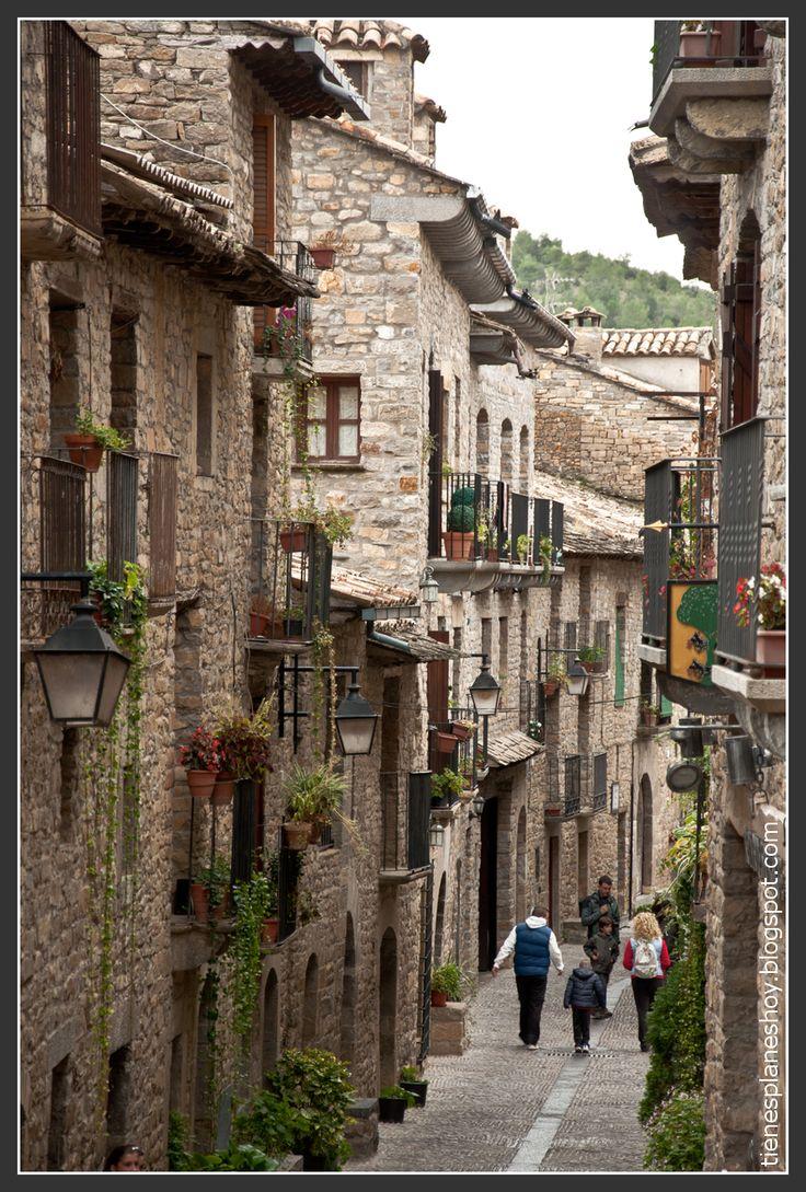 Ainsa, Huesca. Pirineo Aragonès