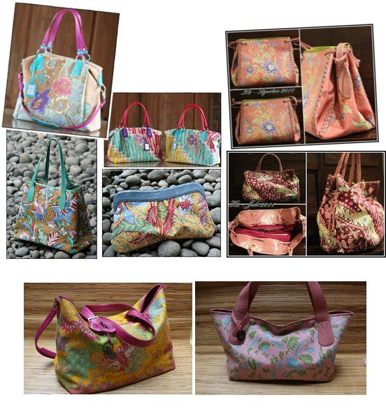 batik handbags