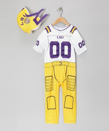 Take a look at this LSU Football Dress-Up Set - Toddler by Paper Magic