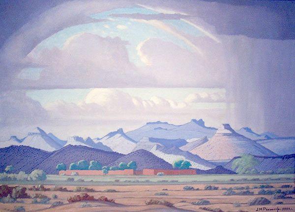 J.H. PIERNEEF 'Graaff-Reinet' Oil on canvas 48 x 65cm