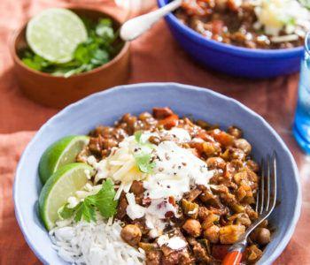 Tasty Lentil Chilli Image