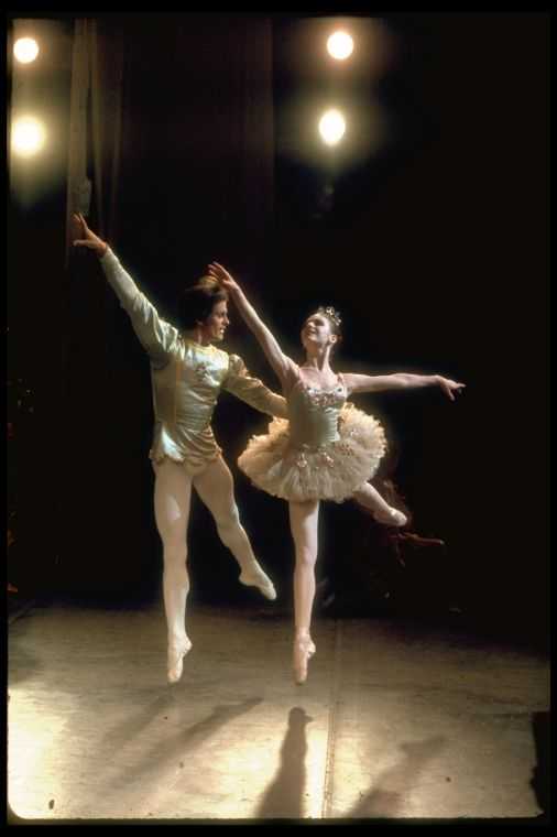 Gelsey Kirkland and Helgi Tomasson, in a New York City Ballet ...