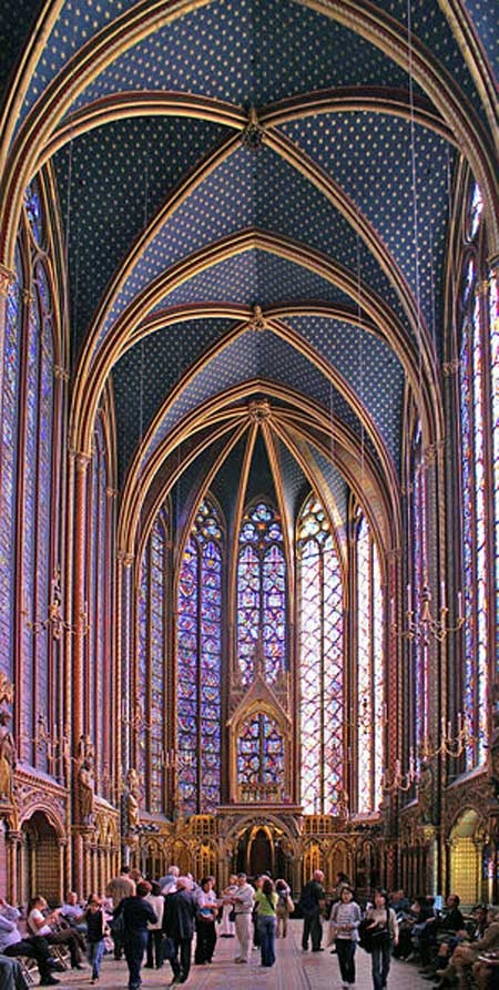 st-chapelle, paris. My favorite cathedral of all time. Next time I am there I want so badly to go on a Sunday for live chamber music!