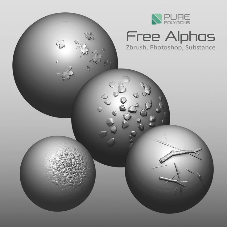 Free Alphas and Intro to ZBrush Course, Jacob Norris on ArtStation at https://www.artstation.com/artwork/wPkN9