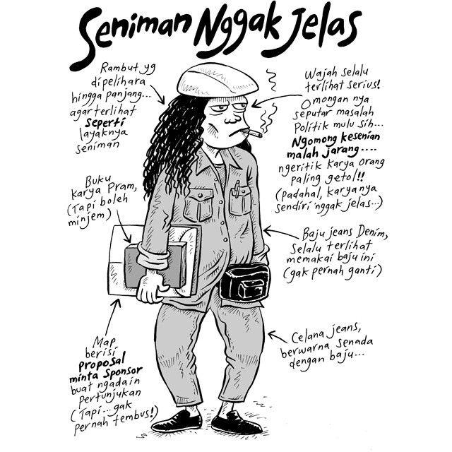 Mice Cartoon: Seniman Gak Jelas