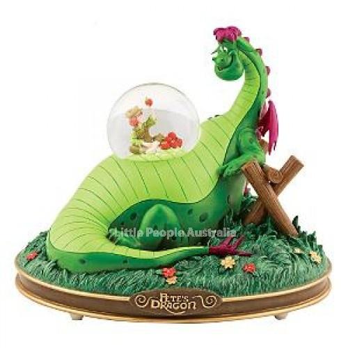 Disney snowglobe petes dragon
