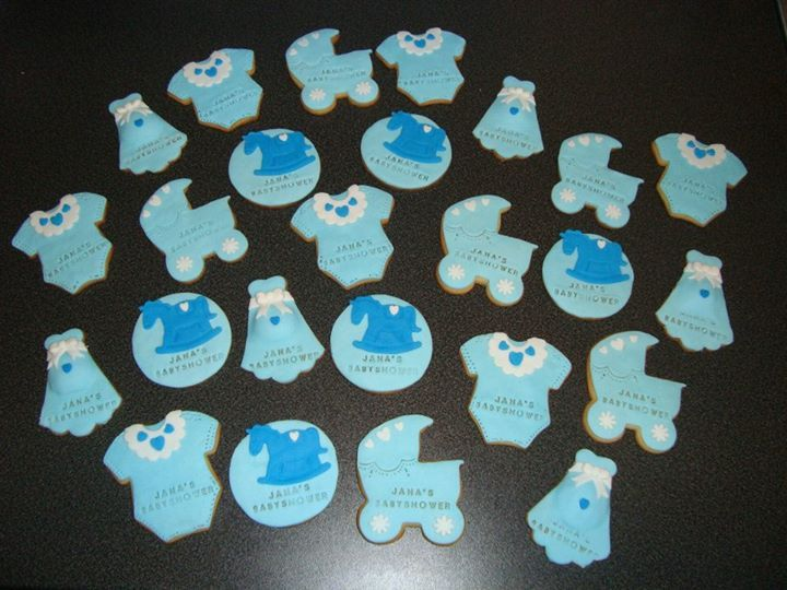 Babyshower koekjes