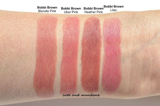 Cute and Mundane: Bobbi Brown Rich Lip Color in Uber Pink review + ...