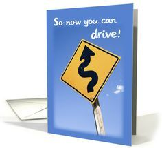 Congratulations on Getting Drivers License, Sign card