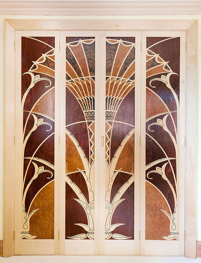 Inspired By The Elevator Doors In The Chrysler Building