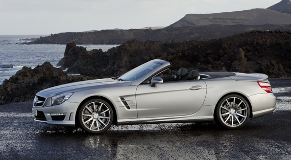 The new Mercedes-Benz SL 63 AMG will be launched Summer 2012
