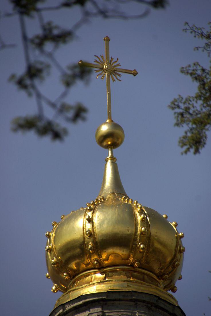 Cerkiew. Sankt Petersburg, Rosja. Fot. Jan Gołąb