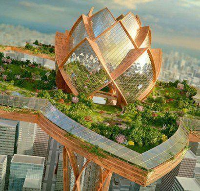 Futuristische-Architektur-Bauen-und-Leben-Cities-Sky                                                                                                                                                                                 Mehr