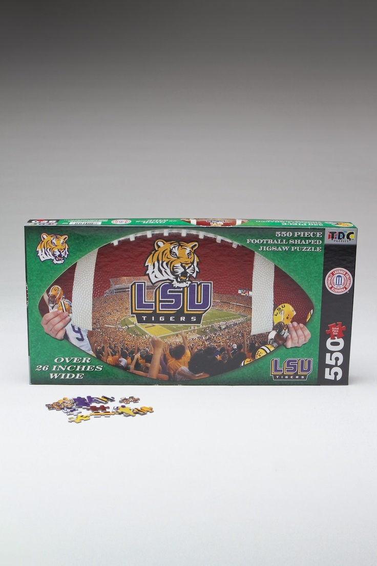 Enjoy Learning Us Map Puzzle%0A NCAA Football Puzzle  LSU