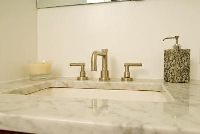 DIY Removal of a Glued-Down Cultured-Marble Countertop From a Vanity